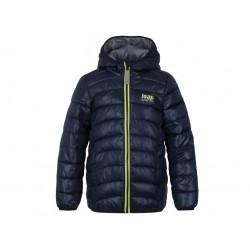 Dětská zimní bunda Loap IMEGO, tm.modrá L11L