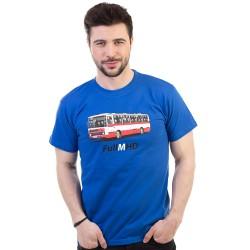 Full MHD pánské triko BASTARD, modrá