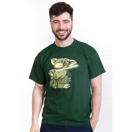 Yoda v rákosí pánské triko BASTARD, zelená