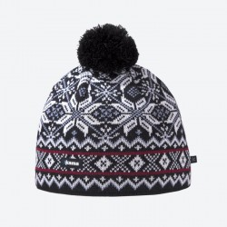 KAMA pletená Merino čepice AW06, černá 110