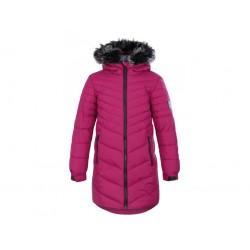 Loap OKSARA dívčí zimní kabát, růžová J02J
