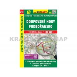 Turistická mapa č. 410 Doupovské hory, Podbořansko 1:40 000