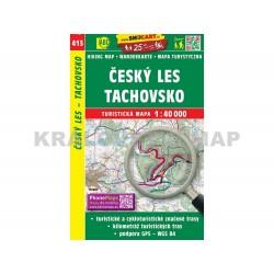 Turistická mapa č. 413 Český les, Tachovsko 1:40 000