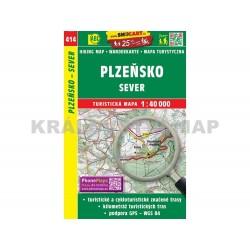 Turistická mapa č. 414 Plzeňsko sever 1:40 000