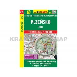 Turistická mapa č. 415 Plzeňsko jih 1:40T