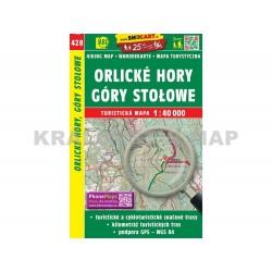 Turistická mapa č. 428 Orlické hory 1:40 000