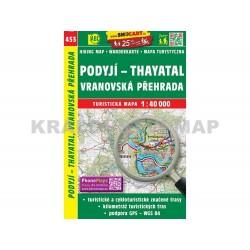 Turistická mapa č. 453 Podyjí - Tayatal 1:40 000