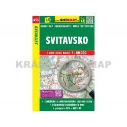 Turistická mapa č. 455 Svitavsko 1:40 000