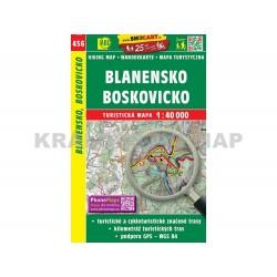 Turistická mapa č. 456 Blanensko, Boskovicko 1:40 000