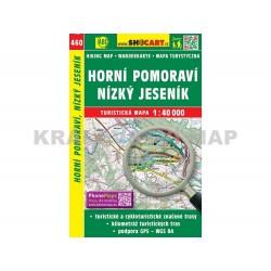 Turistická mapa č. 460 Horní Pomoraví, Nízký Jeseník 1:40 000