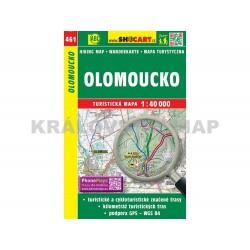 Turistická mapa č. 461 Olomoucko 1:40 000