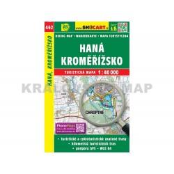 Turistická mapa č. 462 Haná, Kroměřížsko 1:40 000