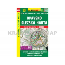 Turistická mapa č. 466 Opavsko, Slezská Harta 1:40 000