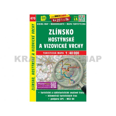 Turistická mapa č. 471 Beskydy, Javorníky 1:40 000