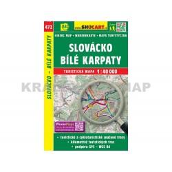 Turistická mapa č. 472 Slovácko, Bílé Karpaty 1:40 000