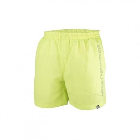 Pánské koupací šortky NORTHFINDER BE-3232SII, 316 žluto zelená