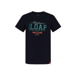 Dětské triko Loap ADRIX, tmavě modrá M94M