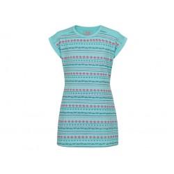 Dívčí šaty Loap ACITA, modro zelená P42PY