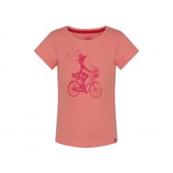 Dívčí triko Loap BIRKA, oranžovo růžová E36J
