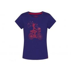 Dívčí triko Loap BIRKA, fialová K53J
