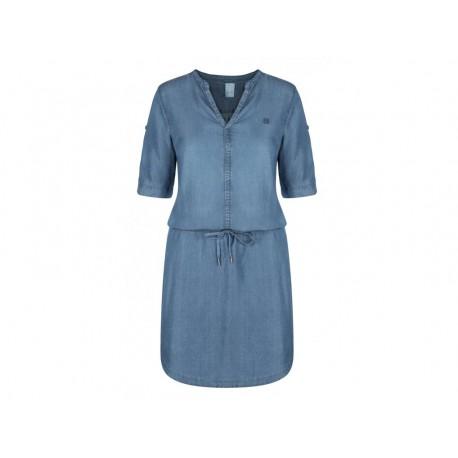 Dámské šaty Loap NYRA, modrá L06L