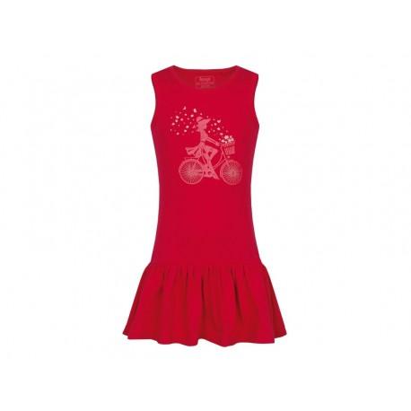 Dívčí šaty Loap BRONA, růžová J48J