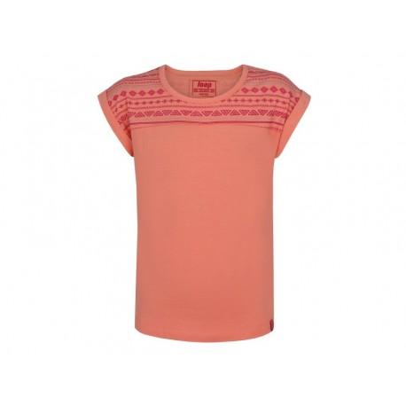 Dívčí triko Loap ALKA, růžová E36J