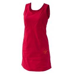 Dámské šaty WARMPEACE SUNDAY BEST, červená