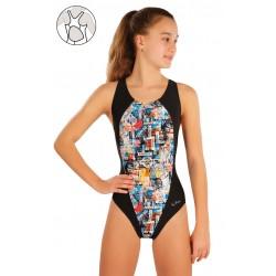 Dívčí jednodílné plavky Litex 57586