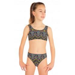 Dívčí dvoudílné plavky Litex 57575 + 57576