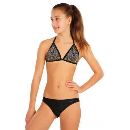 Dívčí dvoudílné plavky Litex 57573 + 57574