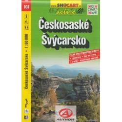Cykloturistická mapa č.101 Českosaské Švýcarsko 1:60T