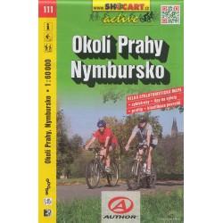 Cykloturistická mapa č. 111 Okolí Prahy, Nymbursko