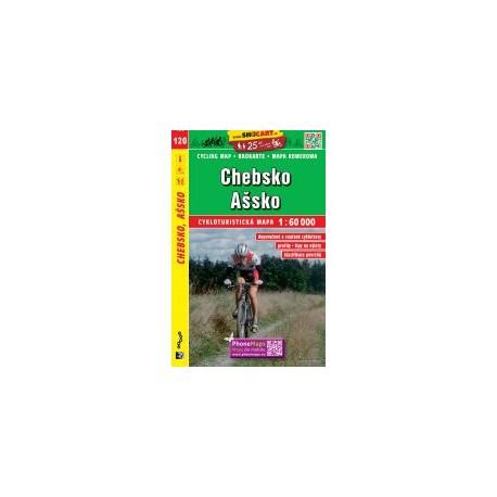 Cykloturistická mapa č. 120 Chebsko, Ašsko 1:60T