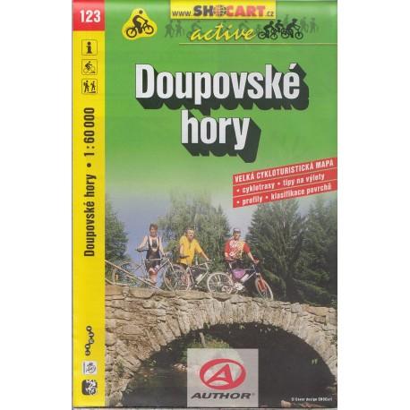 Cykloturistická mapa č. 123 Doupovské hory 1:60T