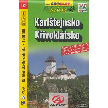 Cykloturistická mapa č. 124 Karlštejnsko, Křivoklátsko 1:60T