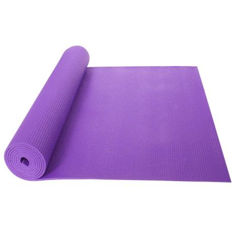 Podložka na jógu/cvičení YATE Yoga Mat + taška, fialová