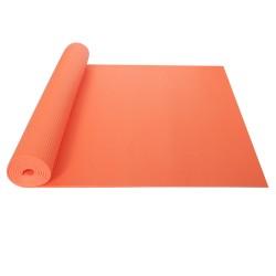 Podložka na jógu/cvičení YATE Yoga Mat + taška, oranžová