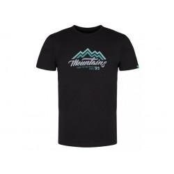 Pánské triko Loap ALFREDO, černá V24N