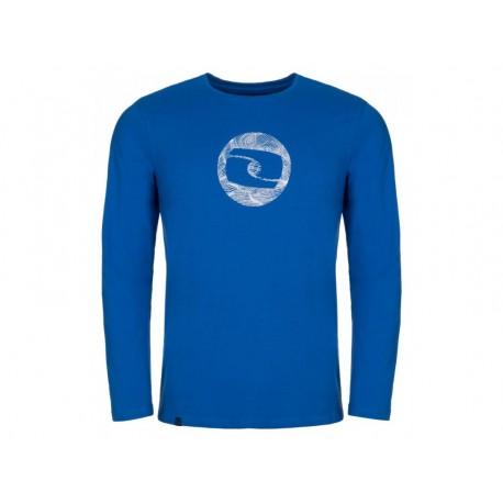 Pánské triko Loap ALBIN, modrá L45A