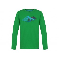 Chlapecké triko Loap ARCOS, zelená P04L