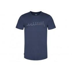 Pánské triko Loap BENEDICT, modrá L13XL