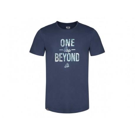 Pánské triko Loap BEYOND, modrá L13XL