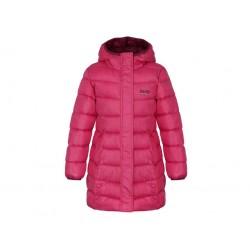 Dívčí zimní kabát Loap INDORKA, růžová J54H