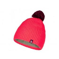 Dětská zimní čepice loap ZODO, růžová J77H