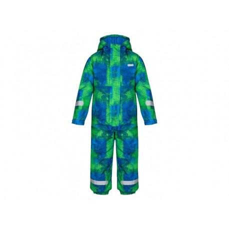 Dětská kombinéza Loap CUSTER, modro zelená L99YP