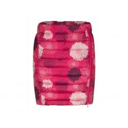 Dámská prošívaná sukně Loap IRALCA, růžová potisk J54YJ