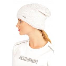 Dámská čepice Litex 60543, bílá