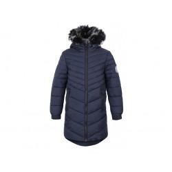 Loap OKSARA dívčí zimní kabát, tmavě šedá V24V