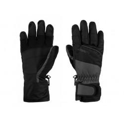 Lyžařské rukavice Loap RODNEY, šedo černá T71V